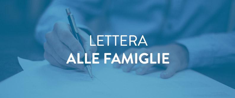 Lettera alle famiglie
