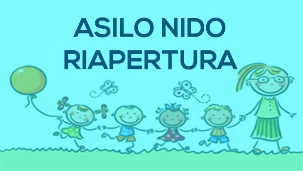 ASILO NIDO Riapertura Settembre 2020